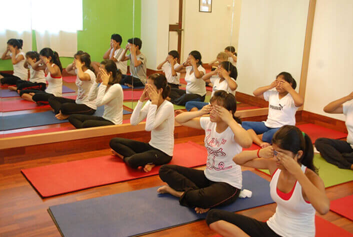 Yoga for children in India