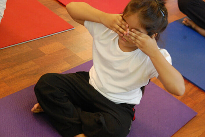 Yoga course for children
