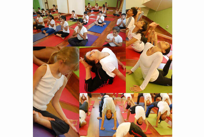 Specialised yoga for children