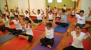 Childrens' Asana Classes at World Of Yoga Goa