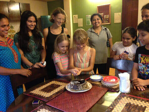 Birthday Celebrations at Goa Yoga School